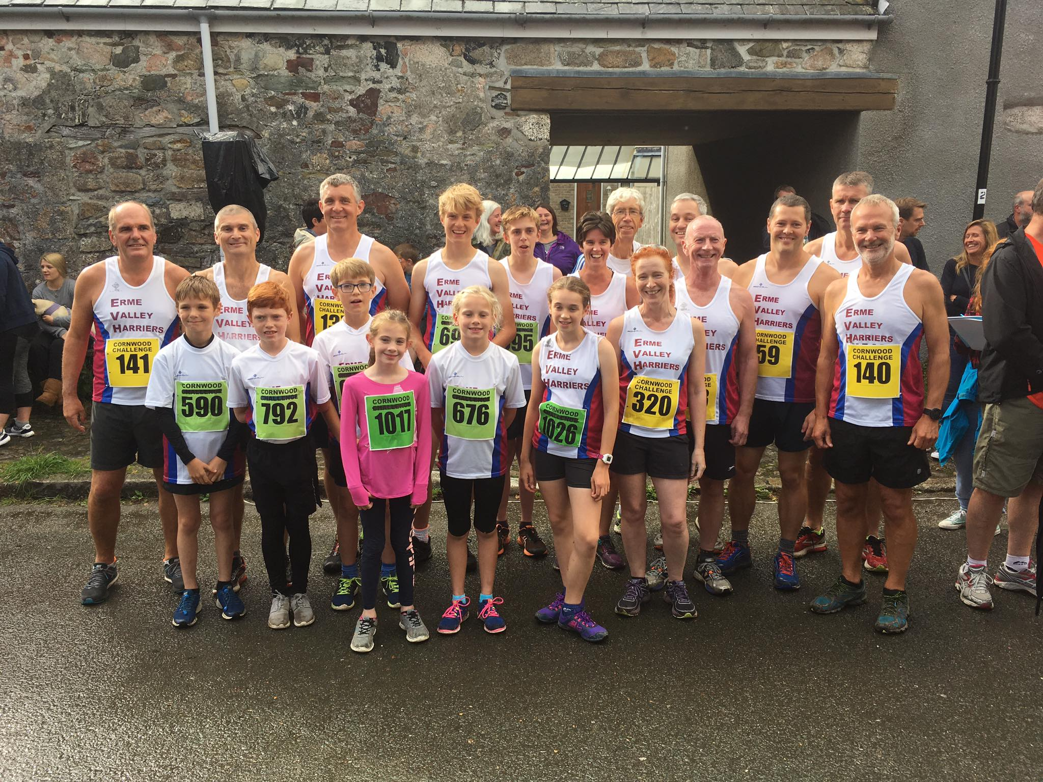 Cornwood 10k  2017 Team